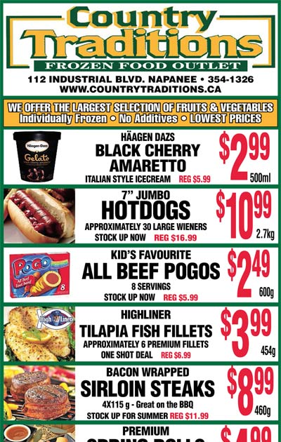 weekly grocery flyer