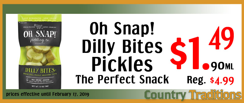dilly bites sliced pickles