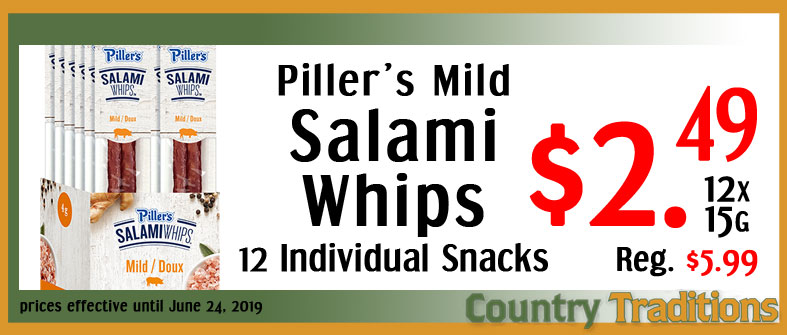 pillers salami whips