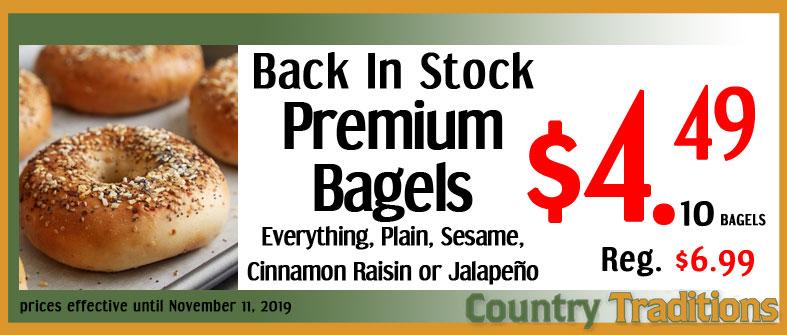 Premium Bagels
