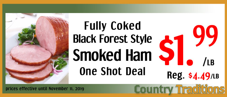 Fully Cooked Half Ham