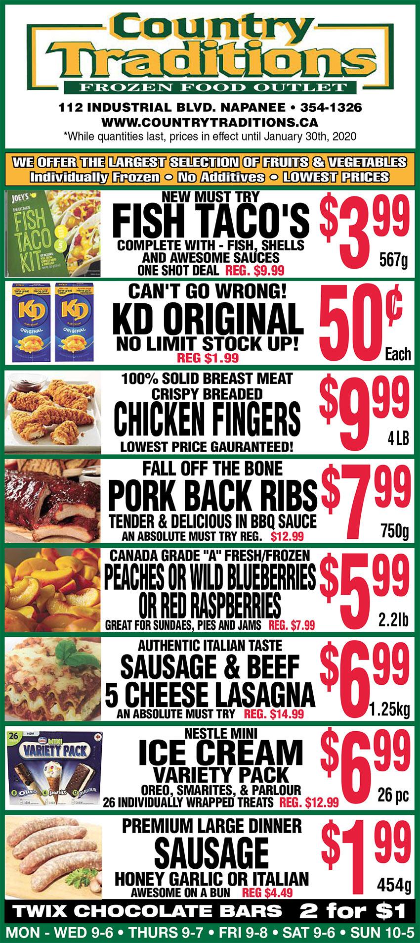 weekly food flyer