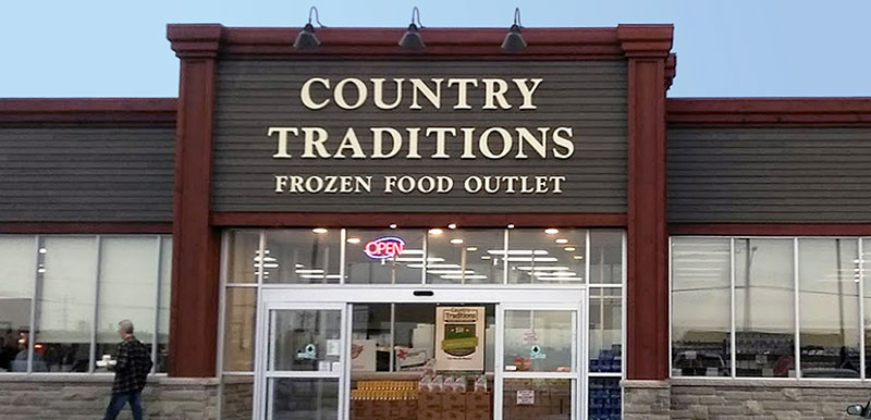 country traditions frozen food outlet