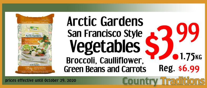 San Francisco Style Vegetables